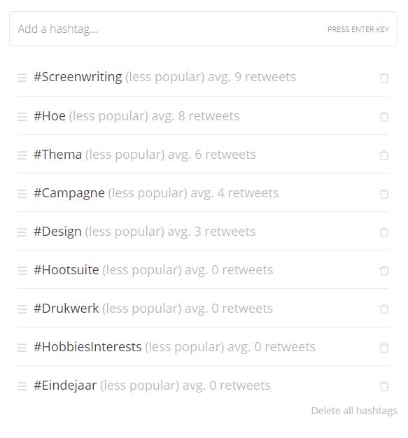 MIssingLettr-review-hashtags MissingLettr recensie: Geautomatiseerde social media voor kmo's en bloggers